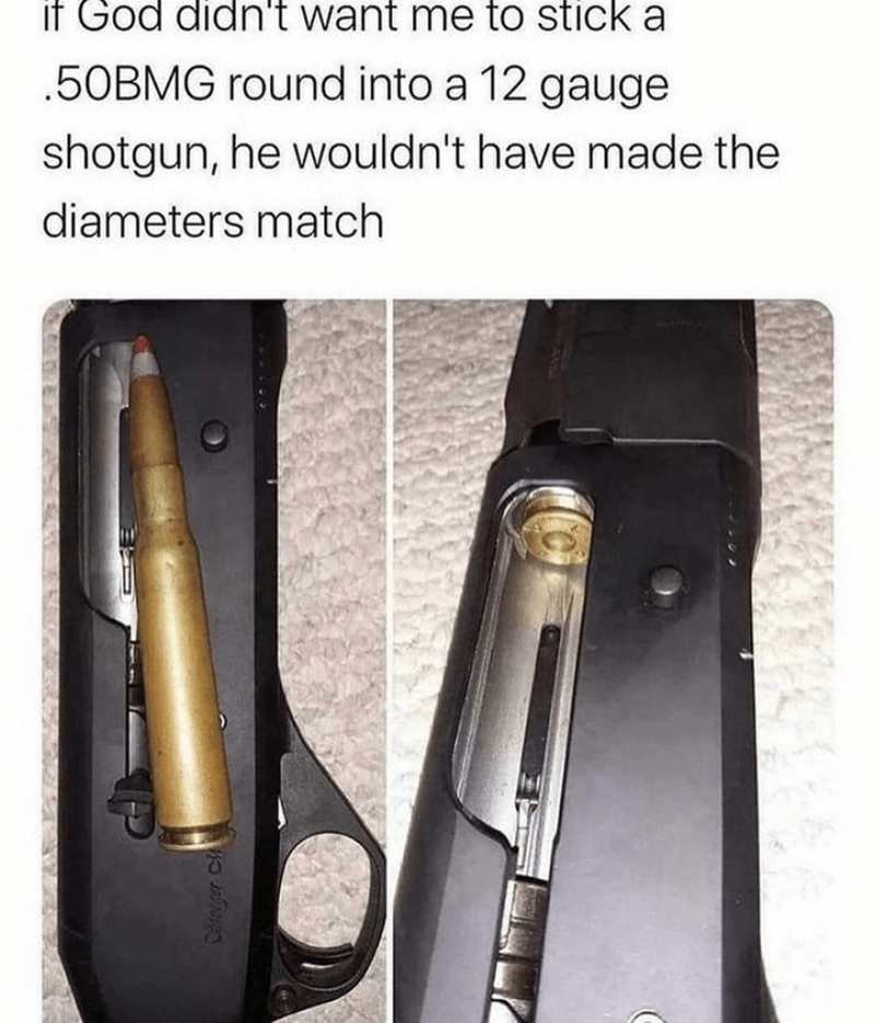 Automotive lighting - if God didn't want me to stick a .50BMG round into a 12 gauge shotgun, he wouldn't have made the diameters match Cloyer Ch