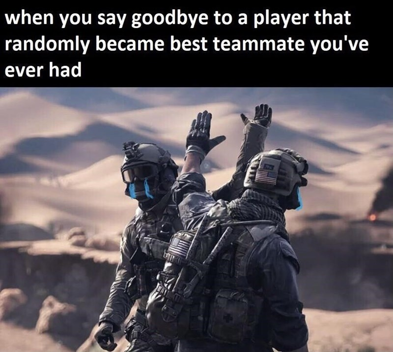 Sky - when you say goodbye to a player that randomly became best teammate you've ever had EZES