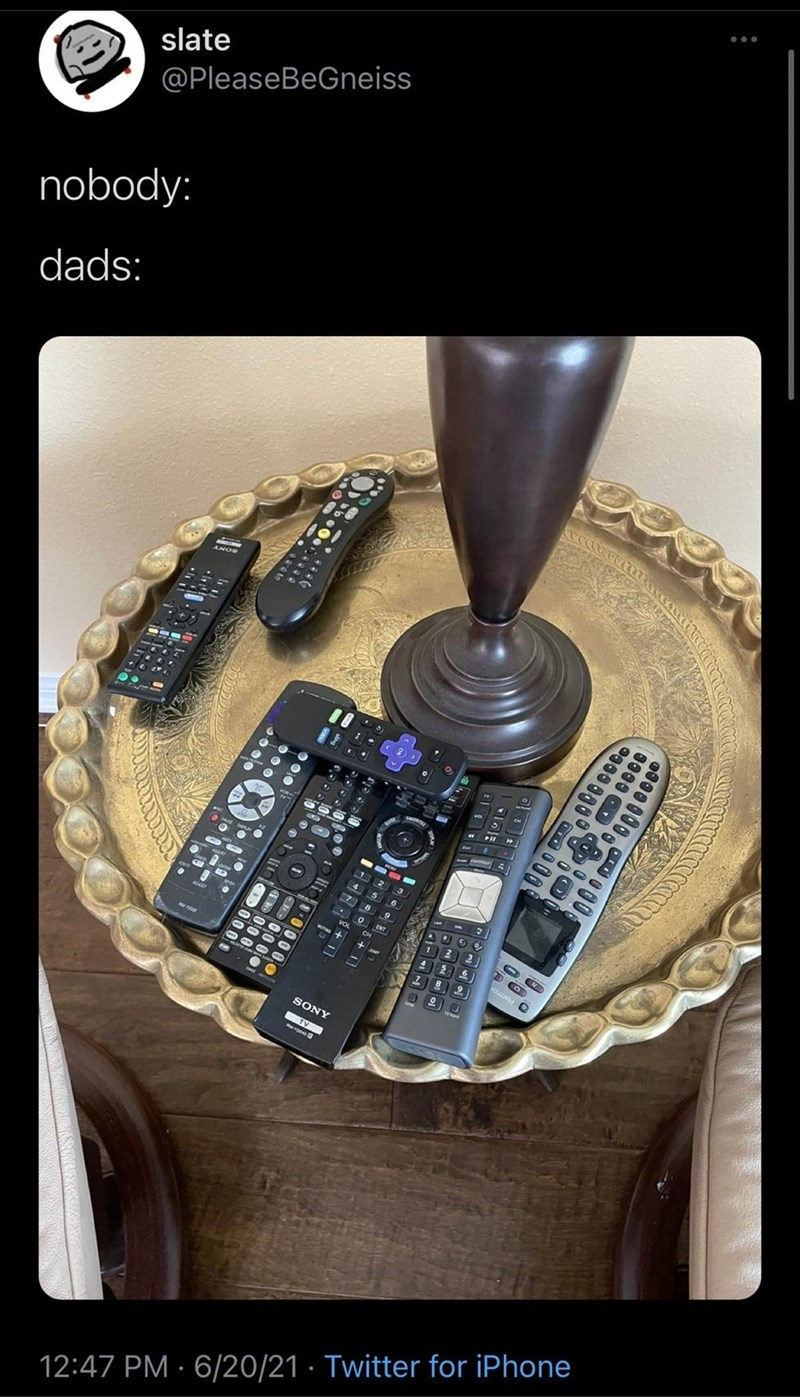 Electronic instrument - slate @PleaseBeGneiss nobody: dads: ANOS 2 3 4 5 7 8 Vo SONY 12:47 PM · 6/20/21 · Twitter for iPhone 0000 OD N ne co ol