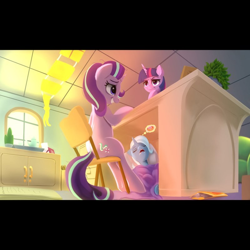 the great and powerful trixie starlight glimmer twilight sparkle - 9619744256