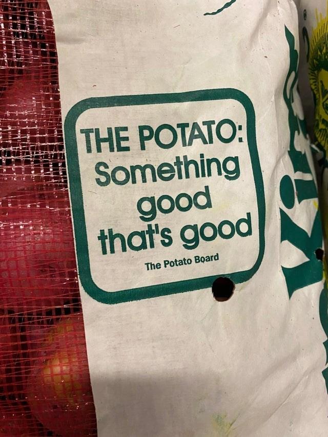 Sleeve - THE POTATO: Something good that's good The Potato Board