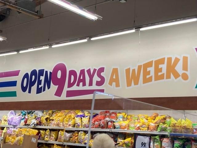 Food - OPEN DAYS A WEEK! 99