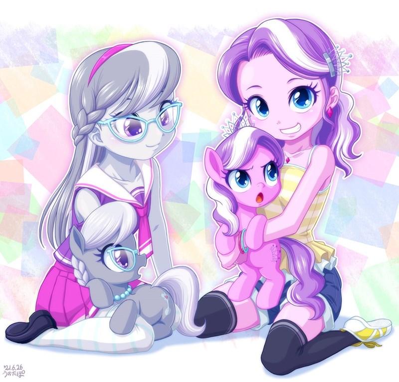 diamond tiara equestria girls uotapo silver spoon - 9620225792
