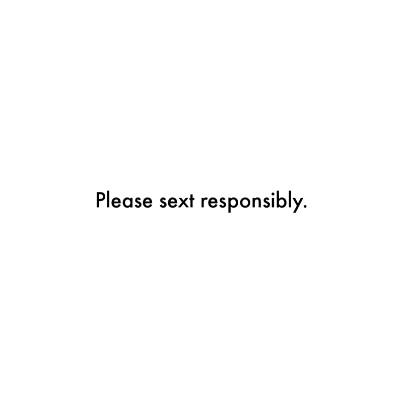 Rectangle - Please sext responsibly.