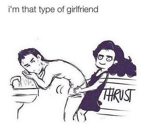 Hair - i'm that type of girlfriend HRUST