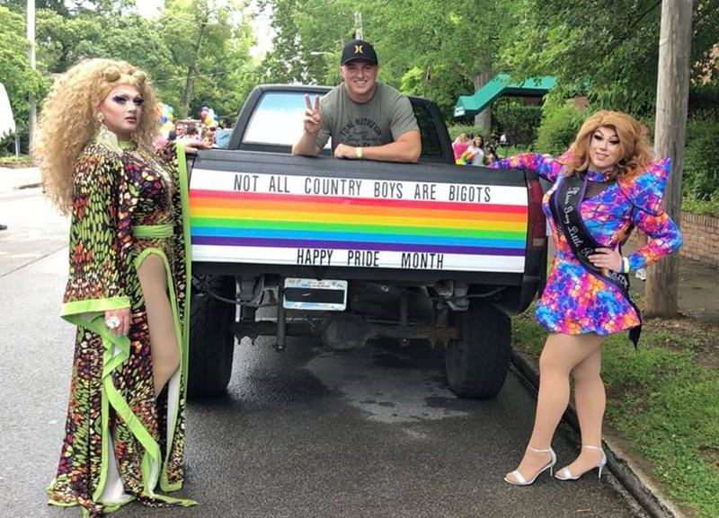 Clothing - NOT ALL COUNTRY BOYS ARE BIGOTS HAPPY PRIDE MONTH