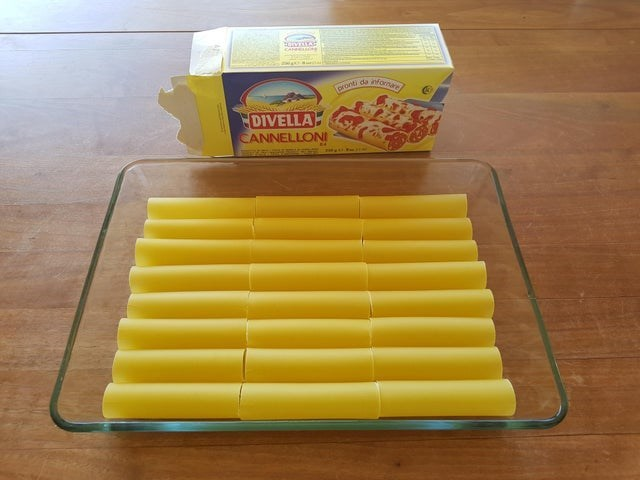 Yellow - pronti da infonare DIVELLA CANNELLONI