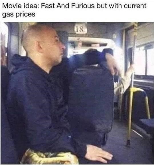 Photograph - Movie idea: Fast And Furious but with current gas prices 18