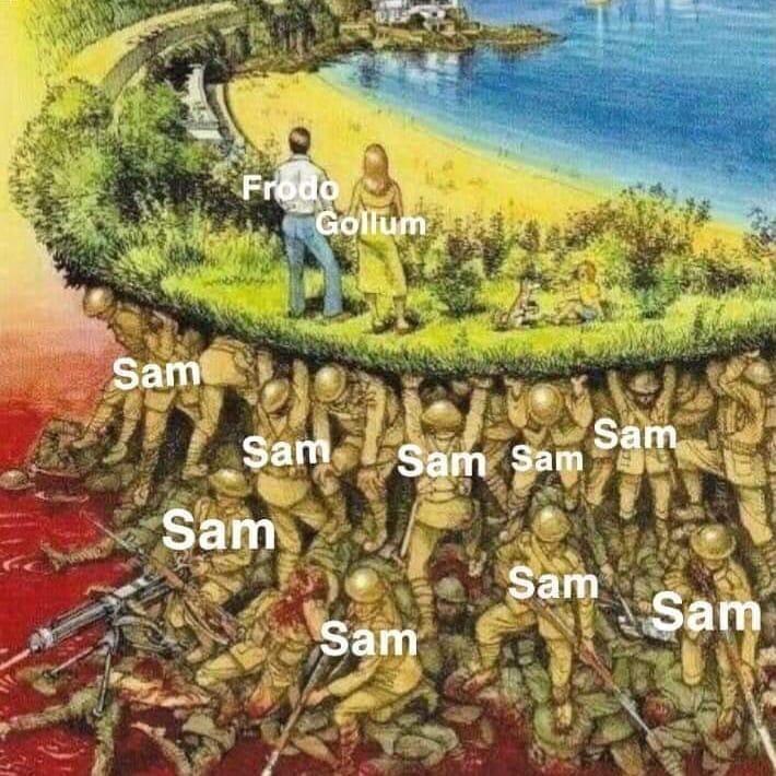 Plant - Frodo Gollum Sam Sam Sam Sam Sam Sam Sam Sam Sam