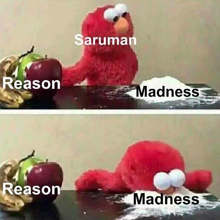Food - Saruman Reason Madness Reason Madness