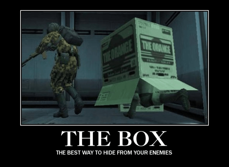 Font - THE ODANGE TWE ORANGE Mes THE BOX THE BEST WAY TO HIDE FROM YOUR ENEMIES