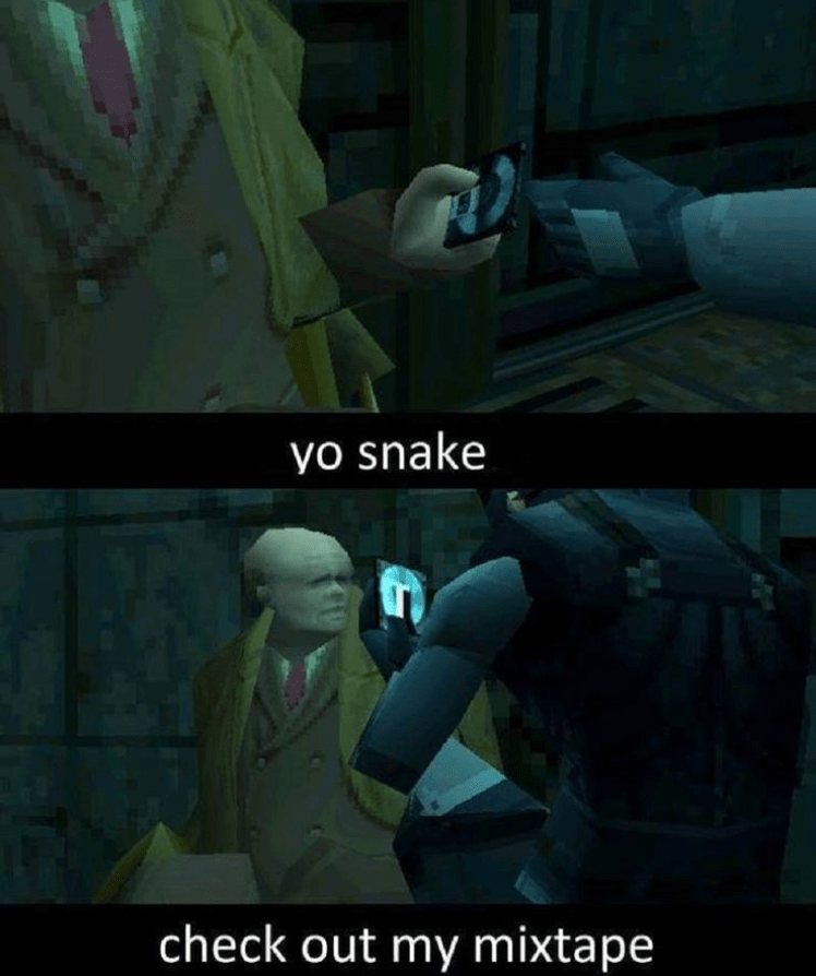 Screenshot - yo snake check out my mixtape