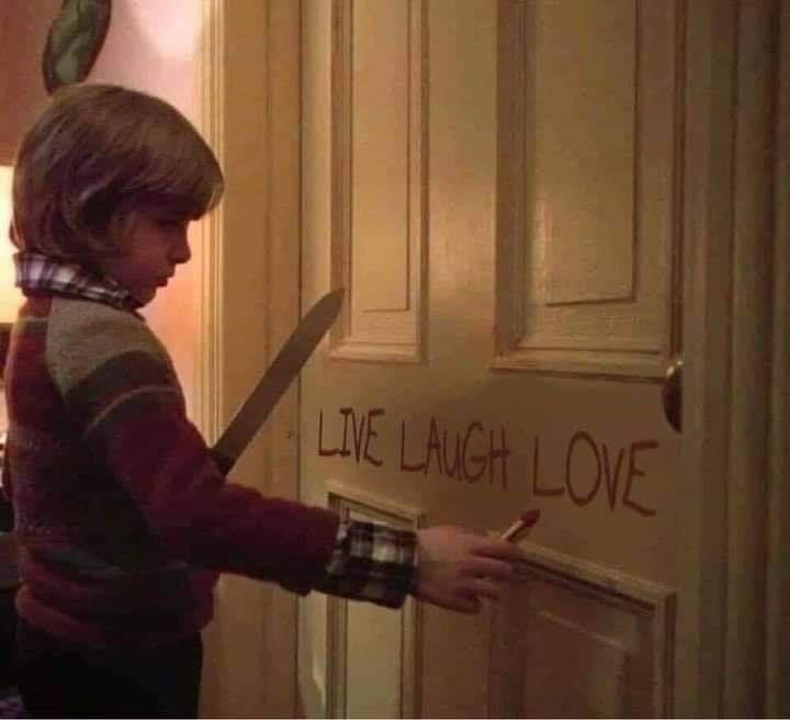 Wood - LIE LAUGH LOVE