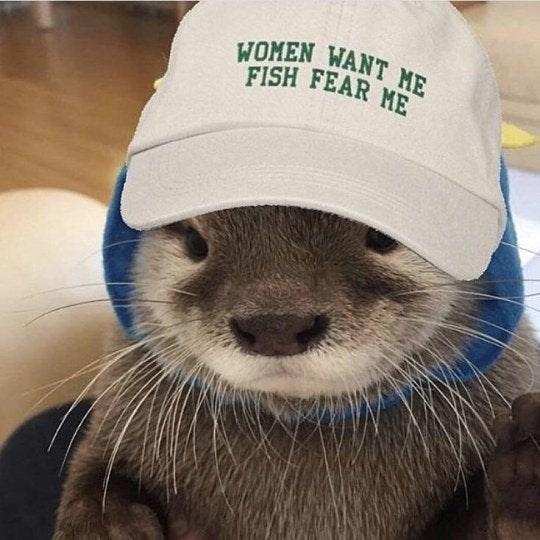 Head - WOMEN WANT ME FISH FEAR ME