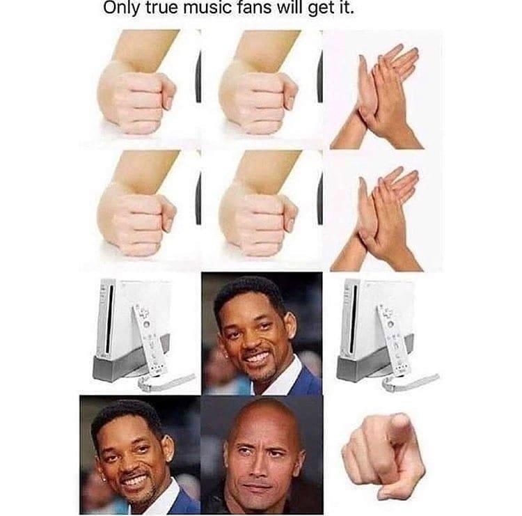 Smile - Only true music fans will get it.