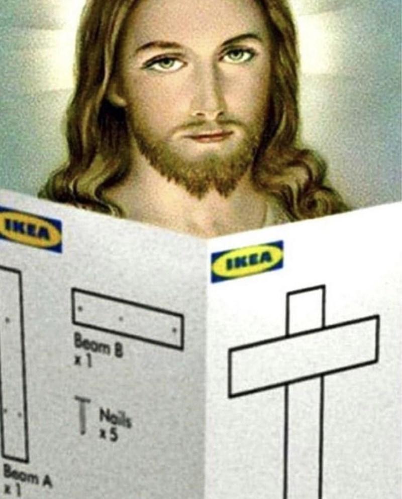 Beard - IKEA IKEA Beam 8 x1 Nails 15 Beom A