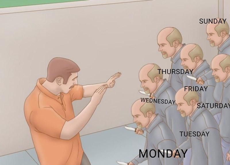 Mouth - SUNDAY THURSDAY FRIDAY WEDNESDAY SATURDAY TUESDAY MONDAY