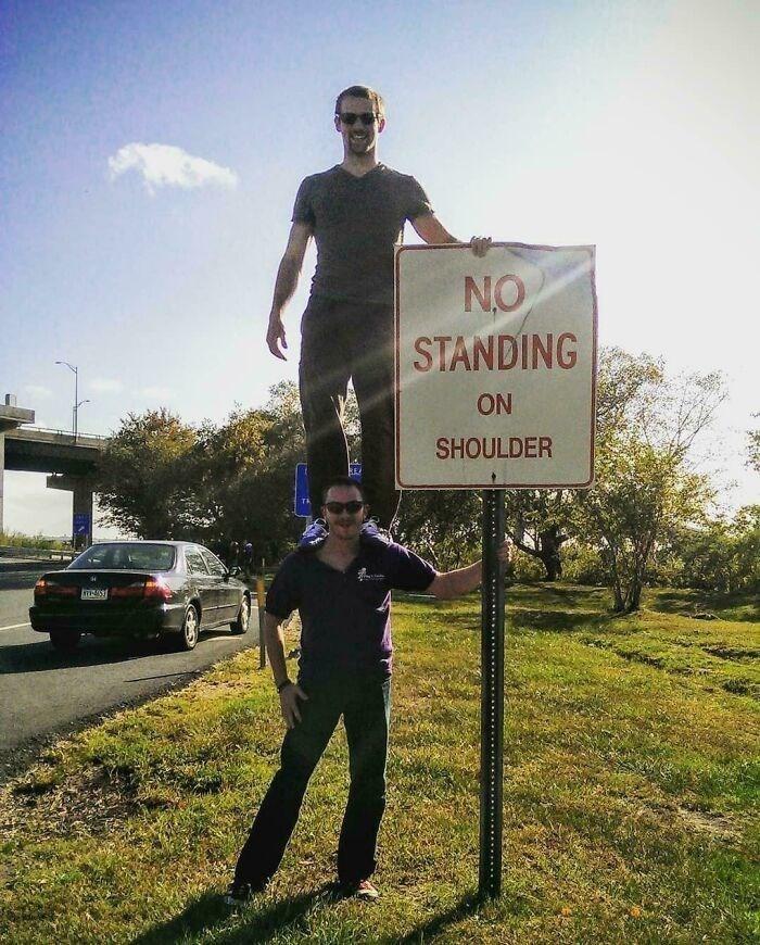 Sky - NO STANDING ON SHOULDER