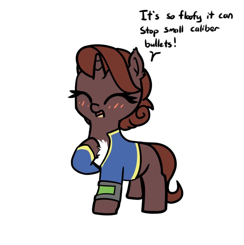 OC fallout neuro pone fallout equestria - 9625048064