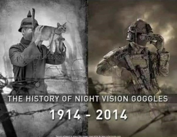 Hat - LPIETURES COM THE HISTORY OF NIGHT VISION GOGGLES 1914- 2014