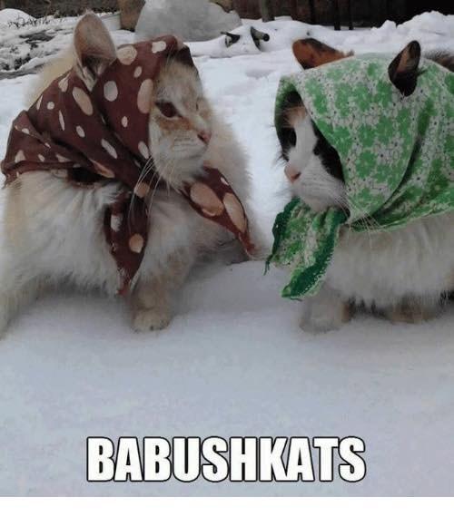 White - BABUSHKATS