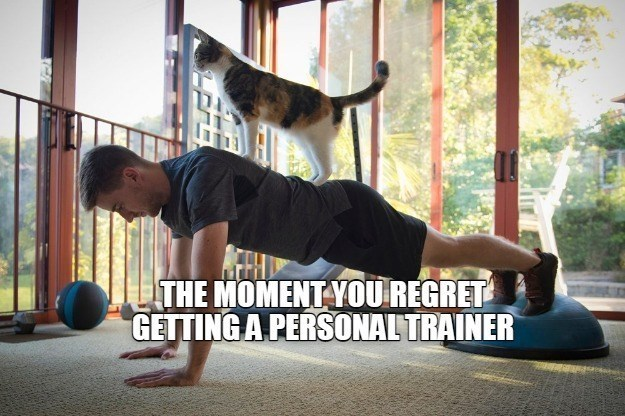 Joint - THE MOMENT YOU REGRET GETTING A PERSONAL TRAINER