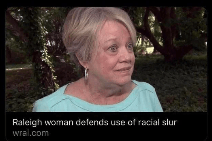 Nose - Raleigh woman defends use of racial slur wral.com