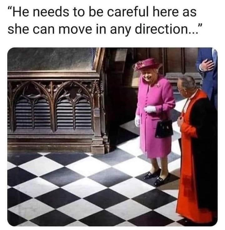 """Product - """"He needs to be careful here as she can move in any direction..."""""""