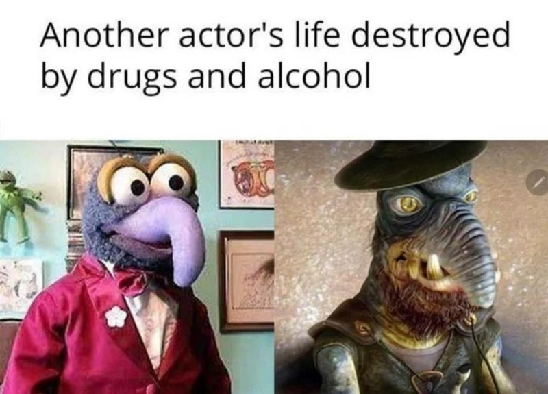 Plant - Another actor's life destroyed by drugs and alcohol
