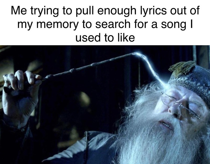 Human - Me trying to pull enough lyrics out of my memory to search for a song I used to like