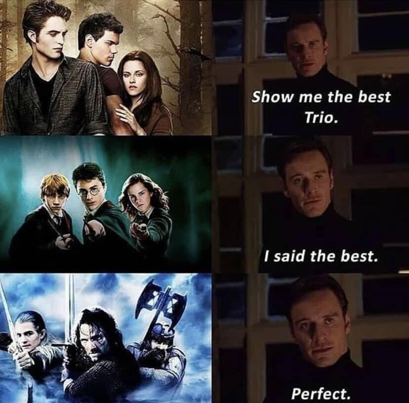 Face - Show me the best Trio. I said the best. Perfect.