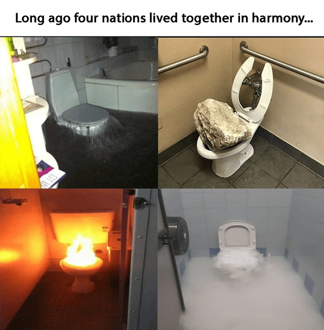 Property - Long ago four nations lived together in harmony...