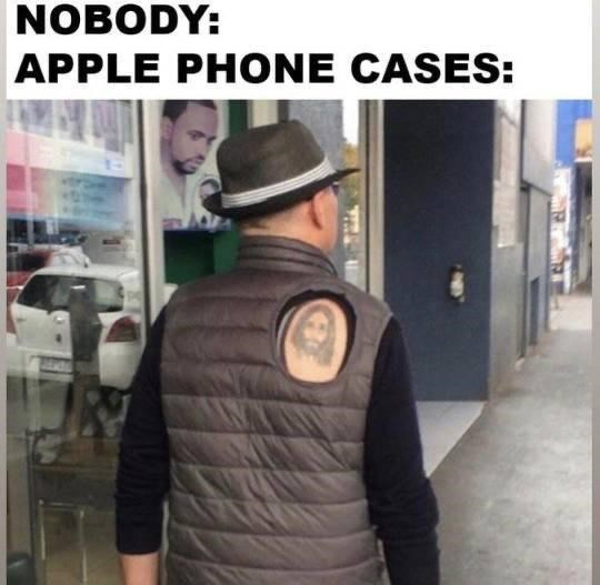 Fashion - NOBODY: APPLE PHONE CASES: