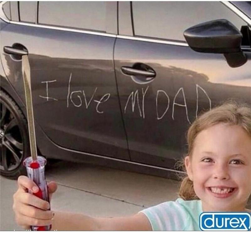 Car - I love ar DAN durex