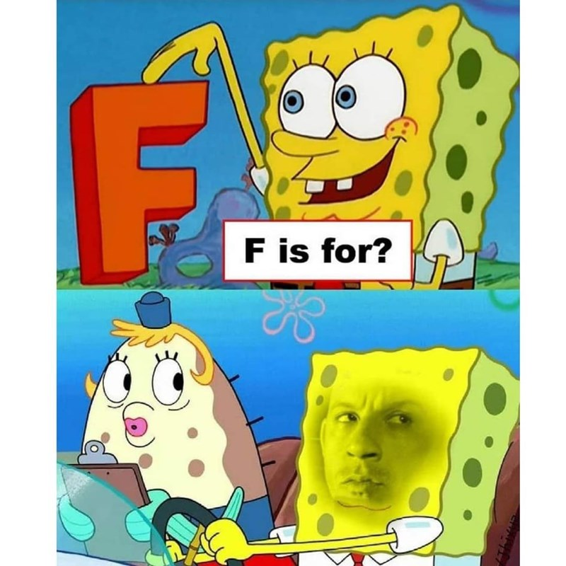 White - F is for?