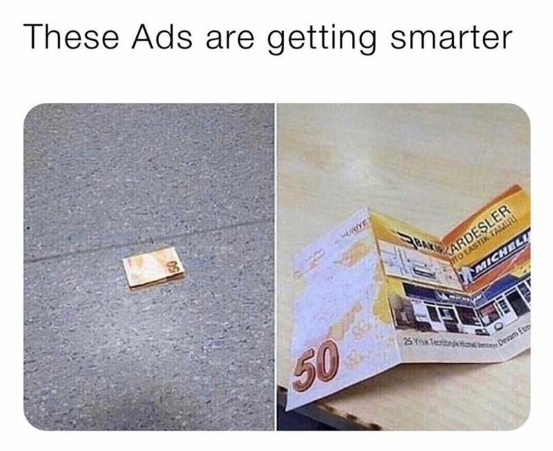 Product - These Ads are getting smarter BAK KARDEŞLER tO LASTIK TAMIRI MICHELU 50