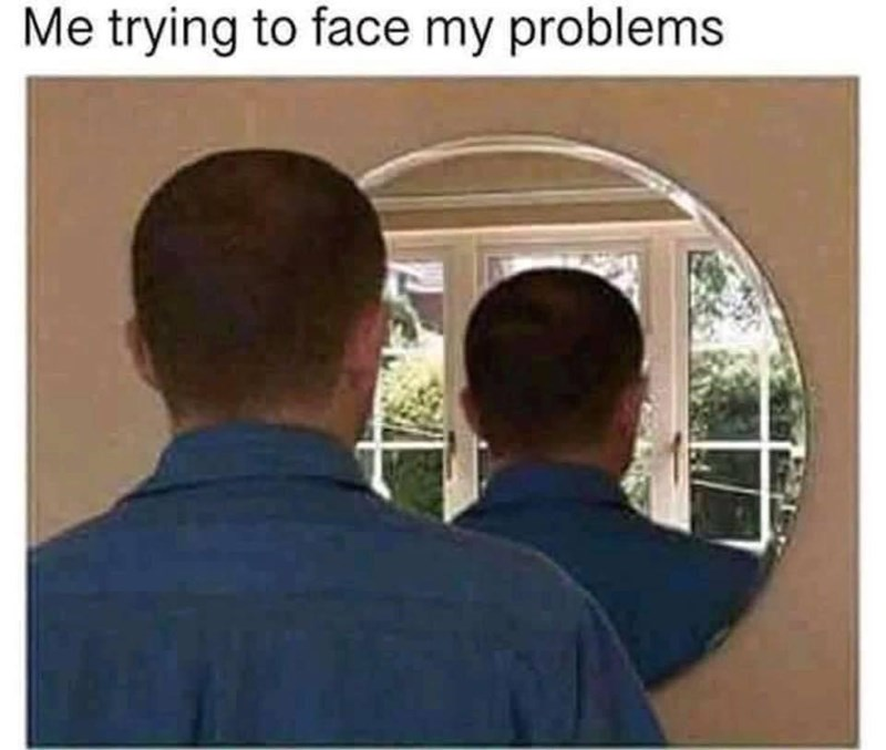 Fixture - Me trying to face my problems