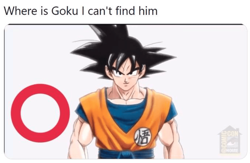 Head - Where is Goku I can't find him 婚 CON CHOME