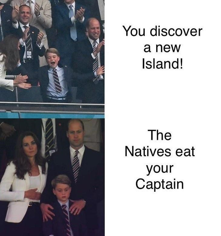 Outerwear - You discover a new Island! The Natives eat your Captain