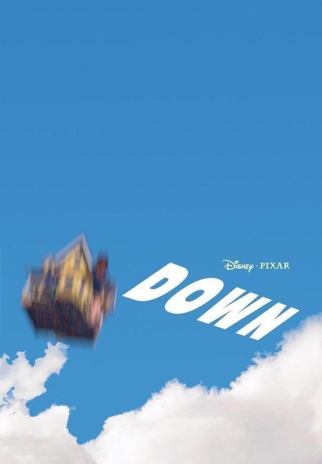 Cloud - DisNEp PIXAR DOWN