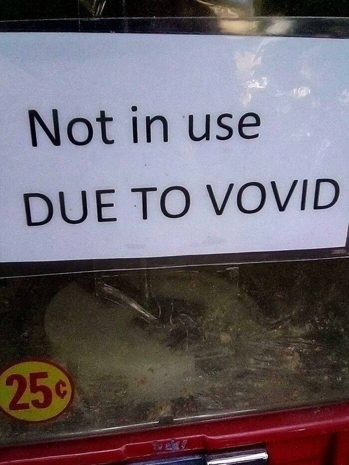 Plant - Not in use DUE TO VOVID 25