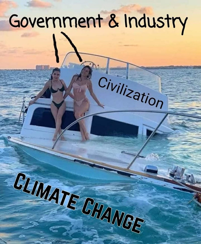 Water - Government & Industry Civilization CLIMATE CHANGE