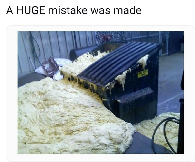 Water - A HUGE mistake was made