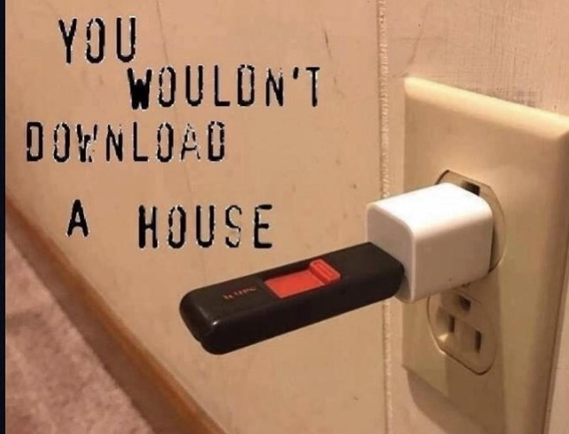 Wood - YOU WOULON'T DOENLOAD A HOUSE