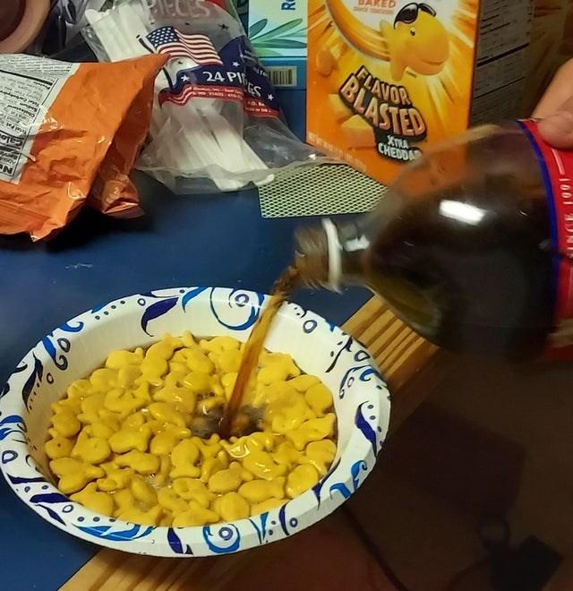 Food - DAKED FLAVOR BLASTE 24 PI XTRA CHEDDA Cholesten 1001 N