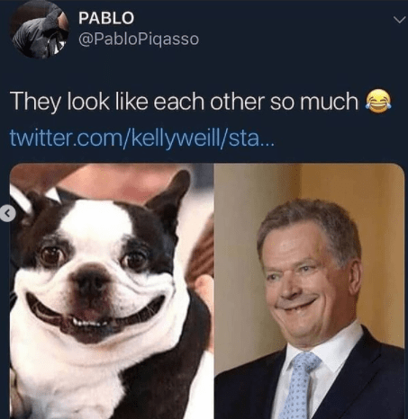 Smile - PABLO @PabloPiqasso They look like each other so much twitter.com/kellyweill/sta..