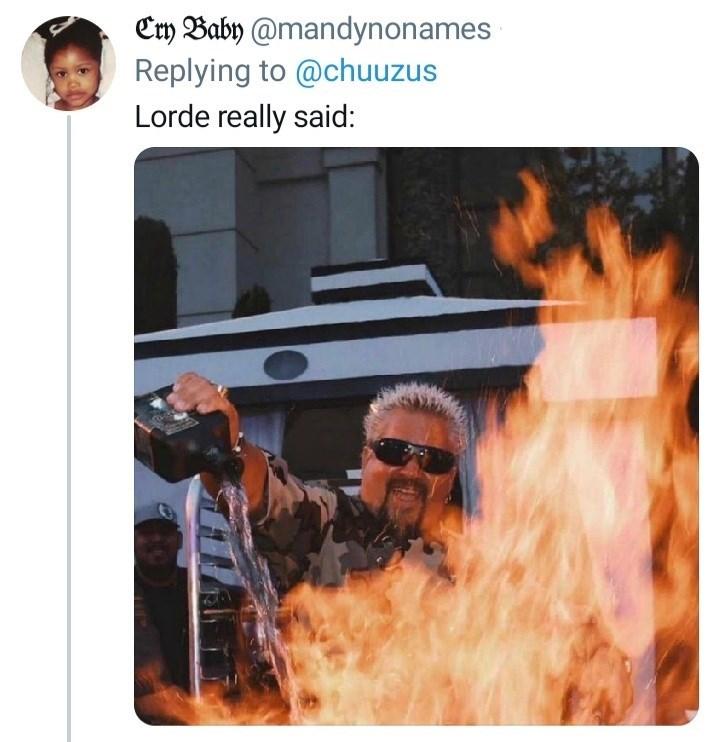 Product - Cry Baby @mandynonames Replying to @chuuzus Lorde really said:
