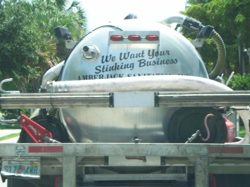 Motor vehicle - We Want Your Stinking Business AMBERJACK SAN $17 4WR