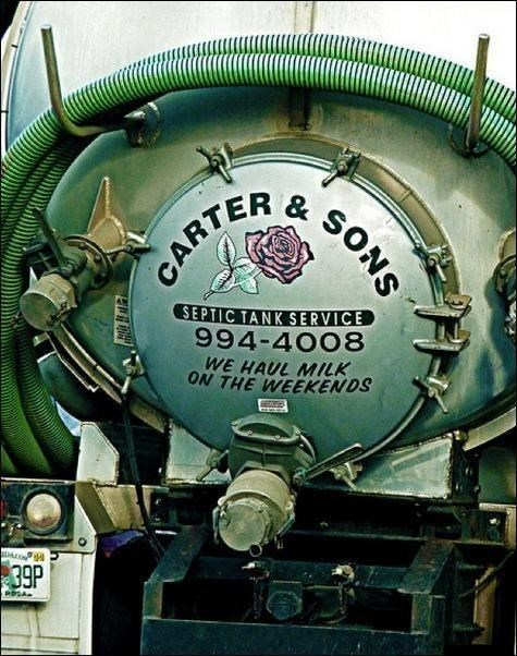 Train - & CARTER SEPTIC TANK SERVICE 994-4008 WE HAUL MILK ON THE WEEKENDS 39P ROSA SONS