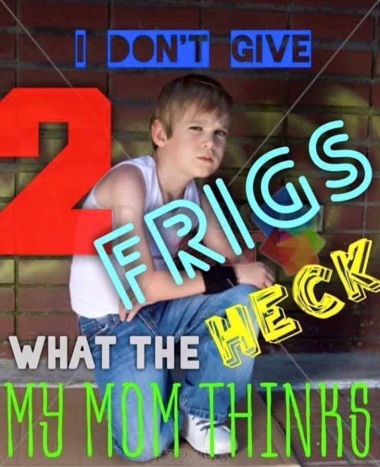 Happy - I DON'T GIVE FRIGS WHAT THE MECK MU MOMETHINHS